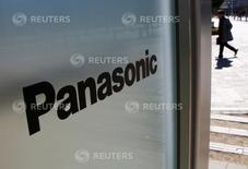 Logo da Panasonic em sua sede de Tóquio 2 de fevereiro de 2017  REUTERS/Kim Kyung-Hoon