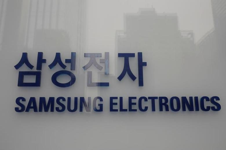 The logo of Samsung Electronics is seen at a company's building in Seoul, South Korea, March 24, 2017.  REUTERS/Kim Hong-Ji