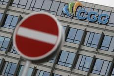 CGG a annoncé vendredi que les parties prenantes à son plan de restructuration financière n'étaient pas encore parvenues à un accord. /Photo d'archives/REUTERS/Christian Hartmann