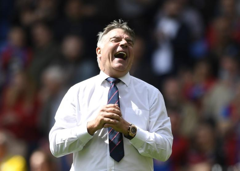 Britain Soccer Football - Crystal Palace v Hull City - Premier League - Selhurst Park - 14/5/17 Crystal Palace manager Sam Allardyce after the match  Action Images via Reuters / Tony O'Brien