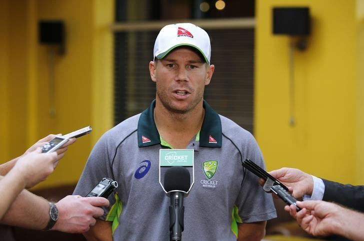 Cricket - Australia Press Conference - Northampton Marriott Hotel - 14/8/15David Warner talks to the media after he was announced as the new Australian Cricket Vice CaptainAction Images via Reuters / Paul ChildsLivepic