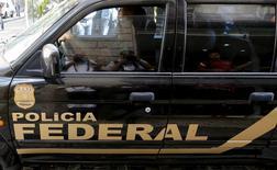 Veículo da Polícia Federal no Rio de Janeiro.  28/07/2015 REUTERS/Sergio Moraes
