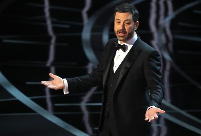 89th Academy Awards - Oscars Awards Show - Jimmy Kimmel host. REUTERS/Lucy Nicholson