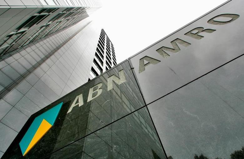 FILE PHOTO -  The head office of ABN AMRO bank is seen in Amsterdam, the Netherlands May 29, 2007. REUTERS/Koen van Weel/File Photo