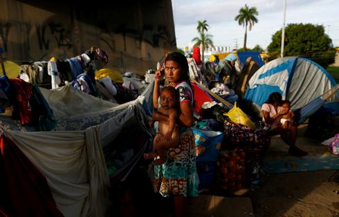 Venezuela's indigenous flee crisis for Brazil