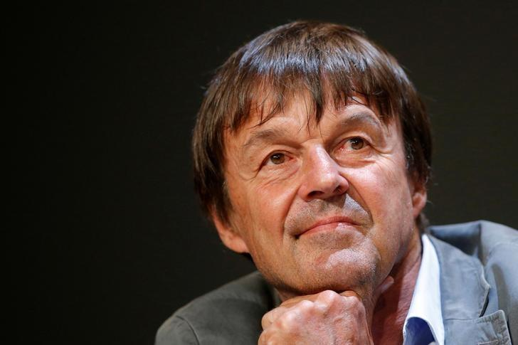 French environmental activist Nicolas Hulot attends a news conference May 31, 2016 in Nantes, France. Nicolas Hulot is appointed French Ecology Minister in Paris, France, May 17, 2017. Picture taken May 31, 2016.   REUTERS/Stephane Mahe/Files