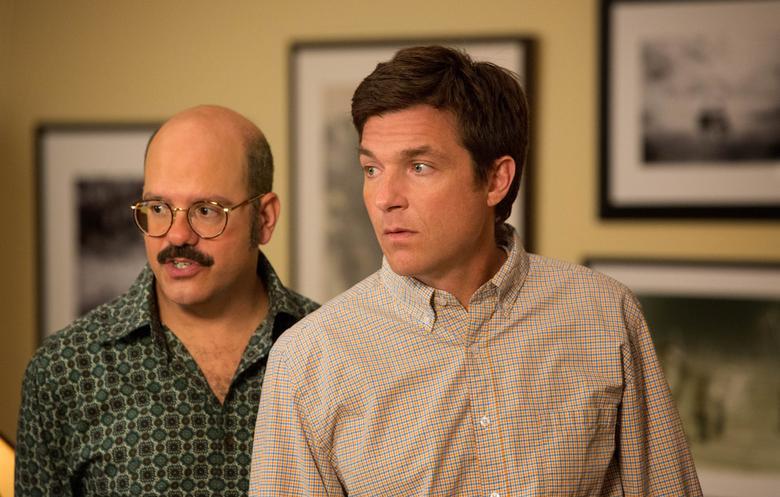 David Cross and Jason Bateman in a scene from Arrested Development.  REUTERS/Mike Yarish/Netflix