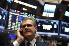 La Bourse de New York a fini mercredi en baisse de 1,76%, l'indice Dow Jones ayant cédé 368,41 points à 20.611,34. /Photo d'archives/REUTERS/Lucas Jackson