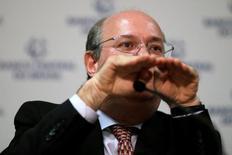 Presidente do Banco Central, Ilan Goldfajn, concede entrevista coletiva em Brasília 31/03/ 2017. REUTERS/Ueslei Marcelino