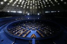 Visão geral do Senado durante sessão em Brasília, no Brasil 13/12/2016 REUTERS/Adriano Machado