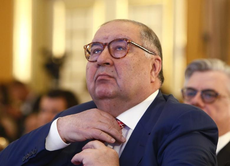 Russian businessman and founder of USM Holdings Alisher Usmanov attends a session during the Week of Russian Business, organized by the Russian Union of Industrialists and Entrepreneurs (RSPP), in Moscow, Russia March 16, 2017. REUTERS/Sergei Karpukhin