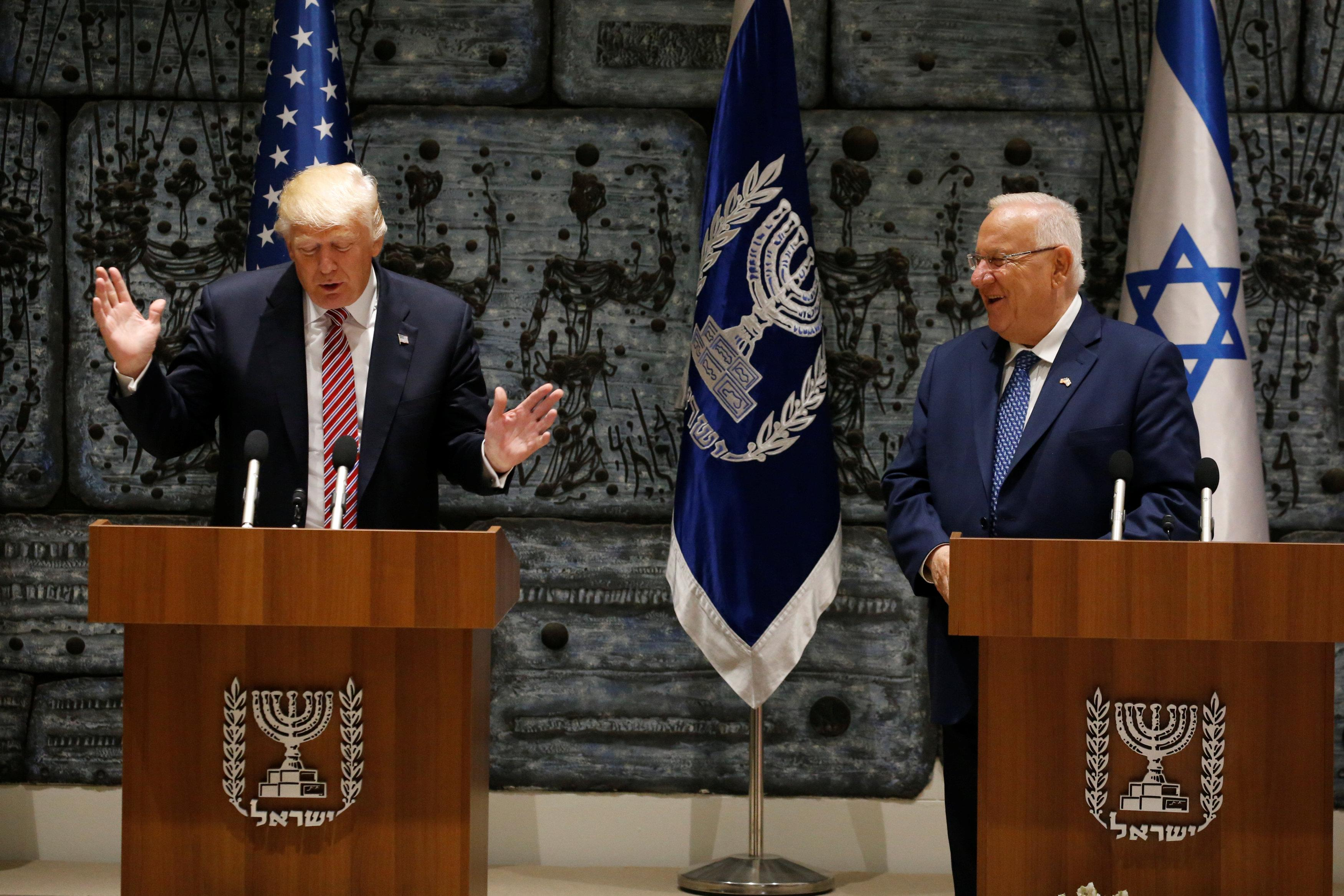 Jew Detector: Trump Says Concerns About Iran Driving Israel, Arab States