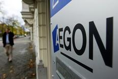 Aegon a annoncé lundi qu'il revendrait certains actifs aux Etats-Unis à Wilton Re afin de se mettre en conformité avec la directive européenne Solvabilité II. /Photo d'archives/REUTERS
