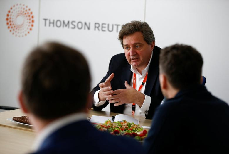 Brunon Bartkiewicz, Chief Executive Officer at ING Bank Slaski SA speaks at the Reuters Central & Eastern Europe Investment Summit in Warsaw, Poland May 22, 2017. REUTERS/Kacper Pempel