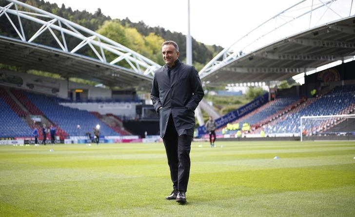Britain Soccer Football - Huddersfield Town v Sheffield Wednesday - Sky Bet Championship Play Off Semi Final First Leg - John Smith's Stadium - 14/5/17 Sheffield Wednesday manager Carlos Carvalhal before the game Action Images via Reuters / Ed Sykes / Livepic/ Files