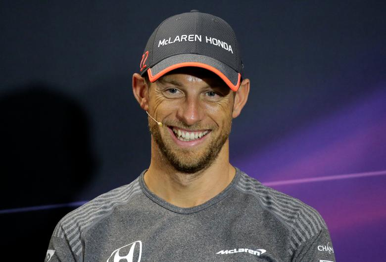 Formula One - F1 - Monaco Grand Prix - Monaco - 24/05/2017 - McLaren's Jenson Button during a news conference. REUTERS/Max Rossi