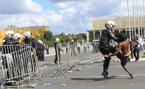 Unrest on the streets of Brasilia