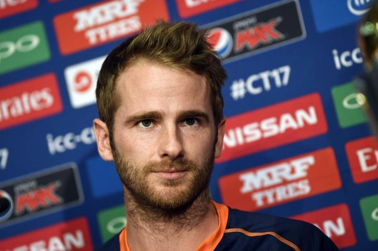 Britain Cricket - New Zealand - Kane Williamson Press Conference - The Grange Hotel, London - 25/5/17 New Zealand's Kane Williamson during the press conference Action Images via Reuters / Tony O'Brien Livepic