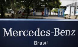 Fábrica da Mercedes-Benz em São Bernardo do Campo, perto de São Paulo 07/01/2015 REUTERS/Nacho Doce