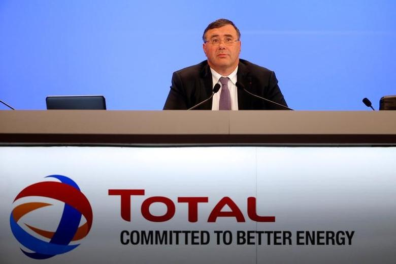 French oil and gas company Total Chief Executive Officer Patrick Pouyanne attends a shareholders meeting in Paris, France, May 24, 2016. REUTERS/Charles Platiau