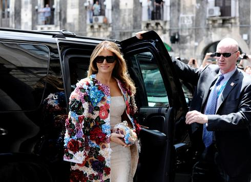 First lady Melania Trump abroad