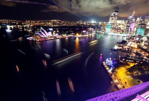 Sydney's festival of lights