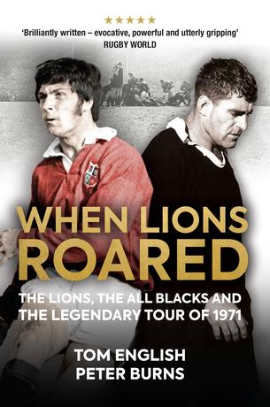 An undated image handed out by the publisher Polaris shows the cover of the book ''When Lions Roared''. Polaris handout via REUTERS