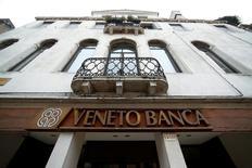 La sede di Venezia di Veneto Banca.  REUTERS/Alessandro Bianchi/File Photo
