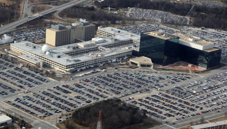 An aerial view of the National Security Agency (NSA) headquarters in Ft. Meade, Maryland, U.S. on January 29, 2010.       REUTERS/Larry Downing