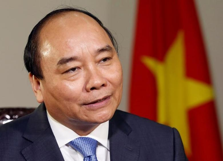 File photo: Vietnam's Prime Minister Nguyen Xuan Phuc is seen during an interview at the Government Office in Hanoi, Vietnam May 25, 2016. REUTERS/Kham