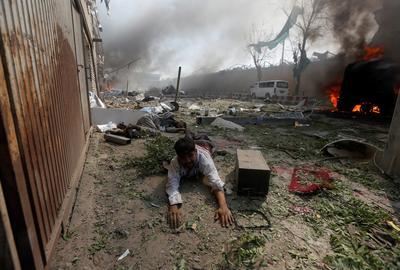Rush hour blast in Kabul
