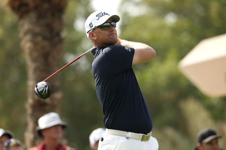 Golf - Abu Dhabi HSBC Golf Championship - Abu Dhabi Golf Club, United Arab Emirates - 23/1/16Sweden's Robert Karlsson in action during the second roundAction Images via Reuters / Paul Childs
