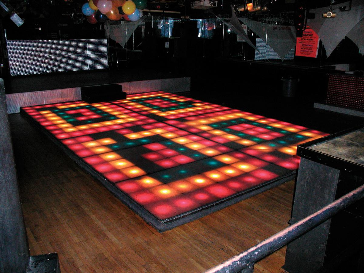 You Could Be Dancing On Saturday Night Fever Disco Floor Reuters - Led dance floor for sale usa