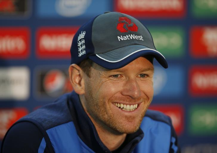 Britain Cricket - England Press Conference - The Oval - 31/5/17 England's Eoin Morgan during the press conference Action Images via Reuters / Paul Childs Livepic