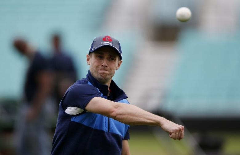 Britain Cricket - England Nets - The Oval - 31/5/17 England's Chris Woakes during nets Action Images via Reuters / Paul Childs Livepic