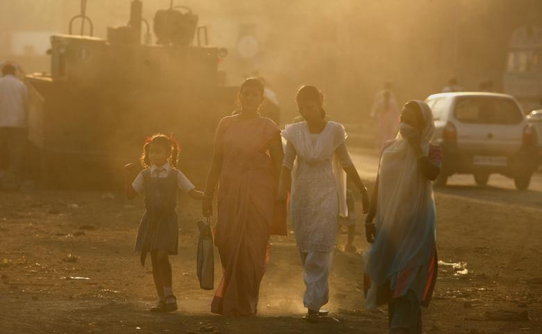 3: India emits about 2,274 million metric tons per year. REUTERS/Arko Datta