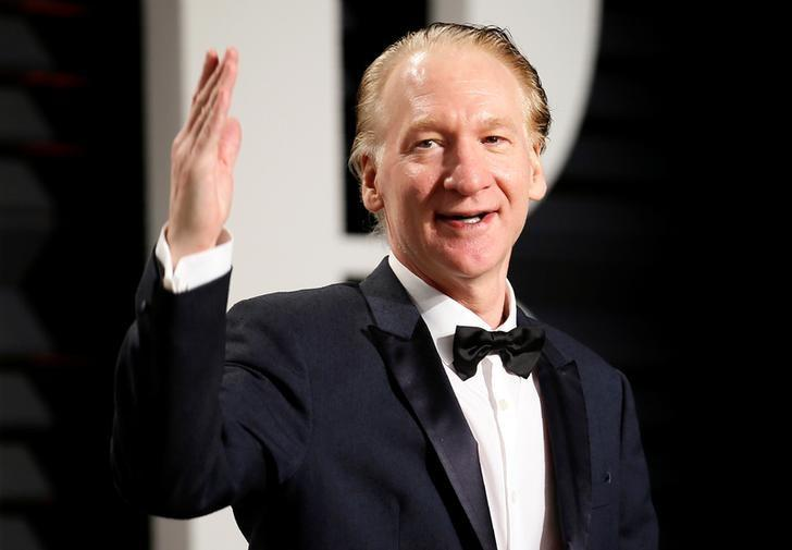 Comedian Bill Maher during the 89th Academy Awards Oscars Vanity Fair Party in Beverly Hills, California, U.S., February 26, 2017. REUTERS/Danny Moloshok/Files