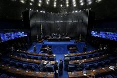 Vista  do plenário do Senado 13/12/2016 REUTERS/Adriano Machado