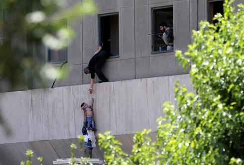 Iran parliament attacked