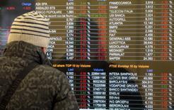Les principales Bourses européennes évoluent sans grand changement jeudi dans la matinée, et les mouvements sont limités sur le marché des changes. À Paris, l'indice CAC 40 gagne 0,17% à 5.274,17 points vers 08h30 GMT. À Francfort, le Dax gagne 0,32% et à Londres, le FTSE est quasiment inchangé. /Photo d'archives/REUTERS/Alessandro Garofalo