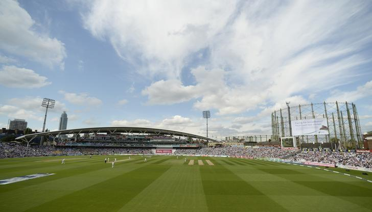 Cricket - England v Australia - Investec Ashes Test Series Fifth Test - Kia Oval - 21/8/15General View as England's Ben Stokes bowls Reuters / Philip BrownLivepic