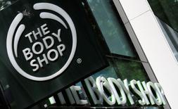 Logo da companhia de cosméticos britânica The Body Shop, em loja em Viena na Áustria. 04/06/2016 REUTERS/Leonhard Foeger
