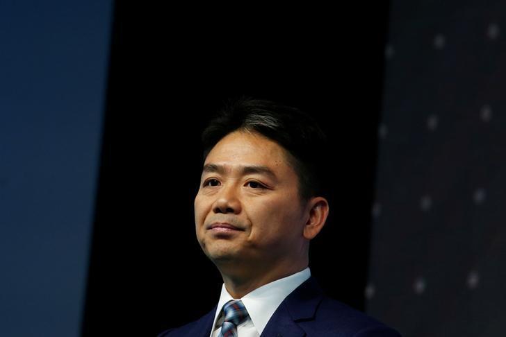 JD.com founder Richard Liu attends a business forum in Hong Kong, China June 9, 2017. REUTERS/Bobby Yip