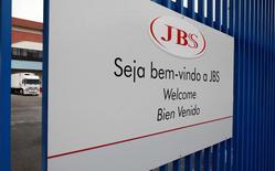 Entrada de unidade da JBS em Jundiaí (SP). 01/06/2017. REUTERS/Paulo Whitaker