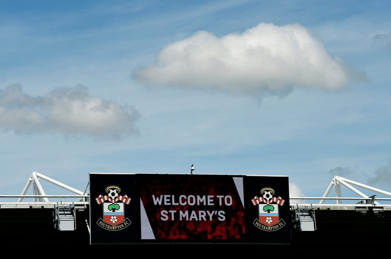 Britain Football Soccer - Southampton v Stoke City - Premier League - St Mary's Stadium - 21/5/17General view of the score board before the match Action Images via Reuters / Tony O'Brien
