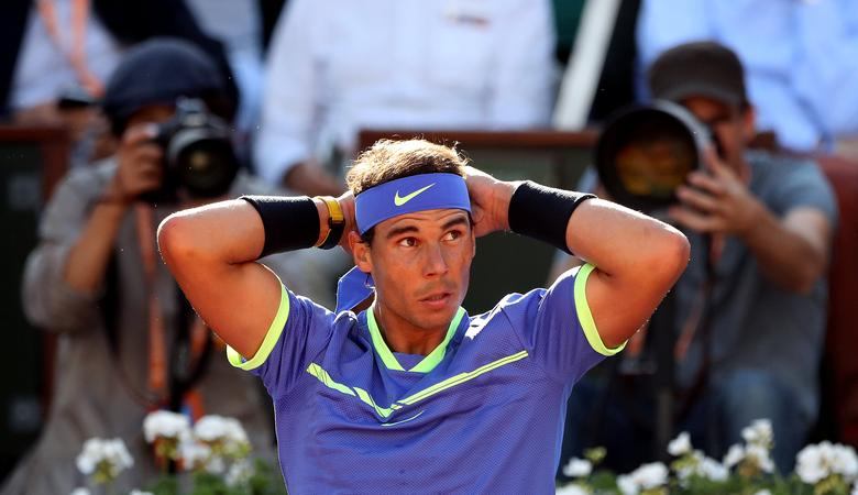 Tennis - French Open - Roland Garros, Paris, France - June 9, 2017   Spain's Rafael Nadal during his semi final match against Austria's Dominic Thiem   Reuters / Pascal Rossignol