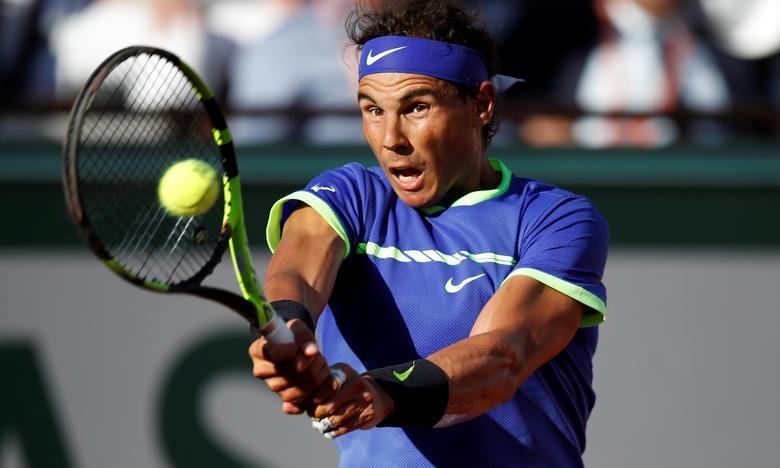 French Open - Roland Garros, Paris, France - June 9, 2017   Spain's Rafael Nadal in action during his semi final match against Austria's Dominic Thiem   Reuters / Christian Hartmann