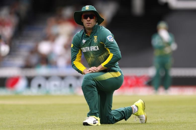 Britain Cricket - India v South Africa - 2017 ICC Champions Trophy Group B - The Oval - June 11, 2017 South Africa's AB De Villiers Action Images via Reuters / John Sibley Livepic