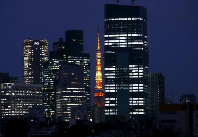 6月9日、日本企業の利益剰余金が過去最大の390兆円台に膨れ上がっている。2016年3月撮影(2017年 ロイター/Issei Kato)