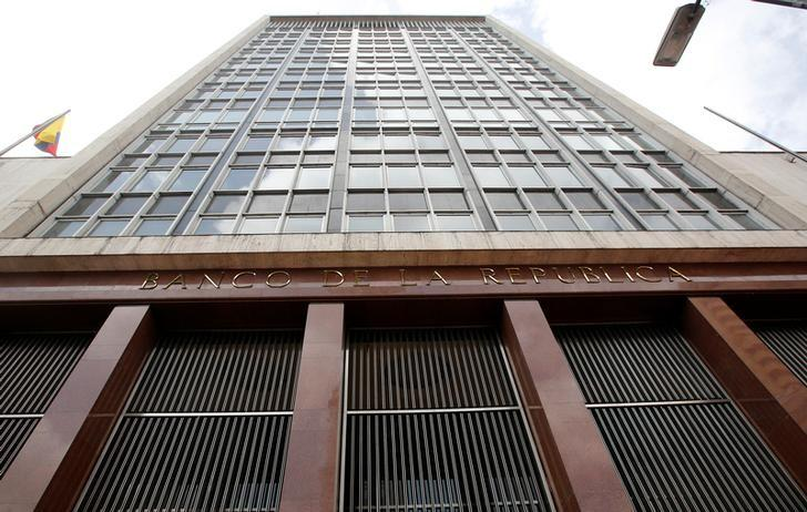 A general view of Colombia's central bank (Banco de la Republica) in Bogota, Colombia, May 26, 2017. REUTERS/Jaime Saldarriaga